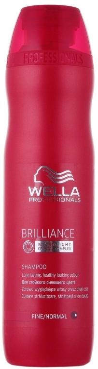 Шампунь для тонких и нормальных окрашенных волос - Wella Professionals Brilliance Shampoo