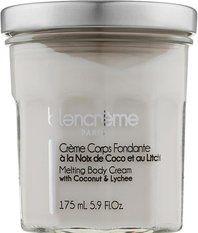 "Крем-суфле для тела ""Кокос и Личи"" - Blancreme Melting Body Cream Coconut Lychee"