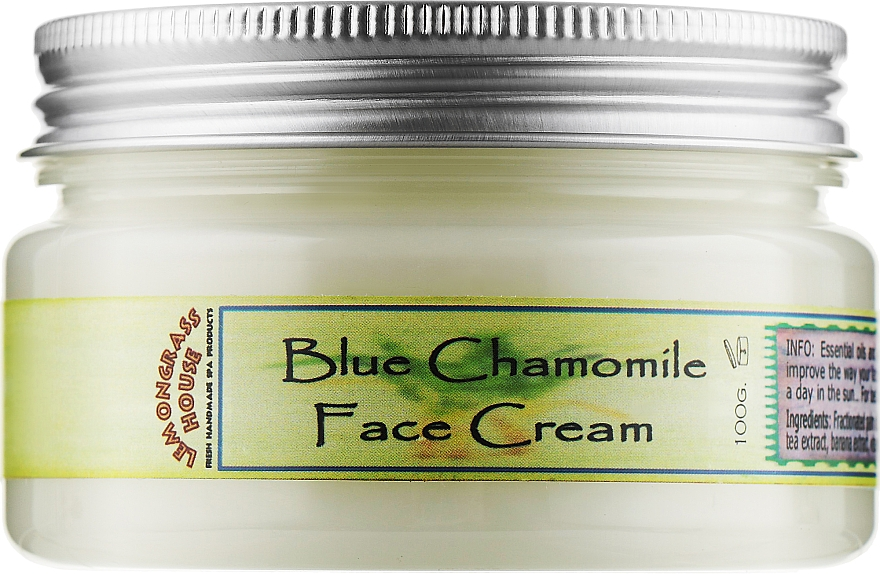 "Крем для лица ""Голубая Ромашка"" - Lemongrass House Blue Chamomile Face Cream"