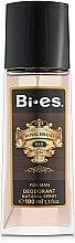 Духи, Парфюмерия, косметика Bi-Es Royal Brand Gold - Парфюмированный дезодорант-спрей