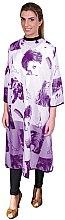 Духи, Парфюмерия, косметика Пеньюар для стрижки фиолетовый, 02504/68 - Eurostil