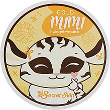 Духи, Парфюмерия, косметика Патчи для век - Secret Skin Gold Mimi Hydrogel Eye Patch
