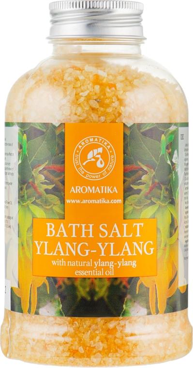 """Соль морская для ванн """"Иланг-Иланг"""" - Aromatika Bath Salt Ylang-Ylang"""