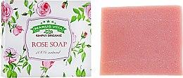 "Духи, Парфюмерия, косметика Мыло ""Розовое"" - Marus Vita Rose Soap"