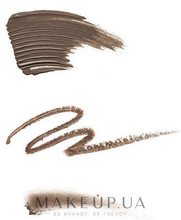 Карандаш для бровей 3 в 1 - NYX Professional Makeup 3-in-1 Brow Pencil — фото Ash Brown