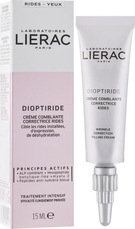 Крем-филлер для коррекции морщин вокруг глаз - Lierac Dioptiride Wrinkle Correction Filling Cream