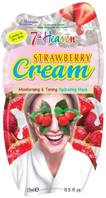 "Крем-маска для лица ""Клубника"" - 7th Heaven Strawberry Cream Mask"