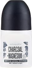 """Дезодорант шариковый """"Уголь"""" - Schmidt's Carbon + Magnesium Deo Roll-On — фото N1"""