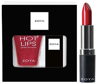 Набор - Holly Days Gloss & Lipstick Duo (lip/gloss/12g + lipstick/4g)