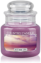 "Духи, Парфюмерия, косметика Ароматическая свеча ""Грезы"" (банка) - Country Candle Daydreams"