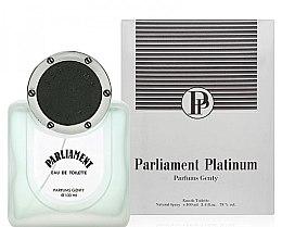 Духи, Парфюмерия, косметика Parfums Genty Parliament Platinum - Туалетная вода (тестер без крышечки)