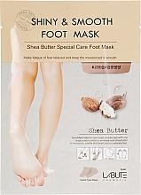 Духи, Парфюмерия, косметика Маска-носочки для ног с маслом Ши - Labute Shiny & Smooth Shea Butter Foot Mask