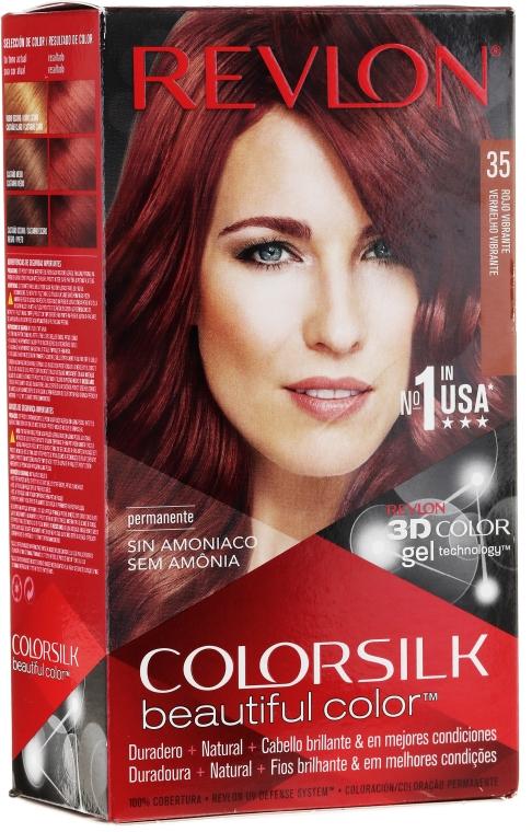 Стойкая краска для волос - Revlon ColorSilk Beautiful Color — фото N3