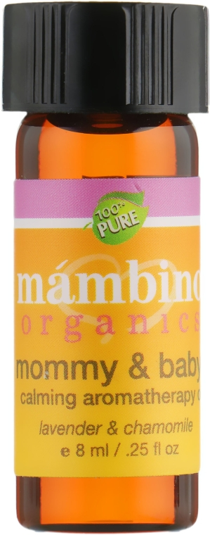 Ароматерапевтическое успокаивающее средство для мам и малышей - Mambino Organics Aromatherapy & Candles Mommy & Baby Calming Aromatherapy Oil