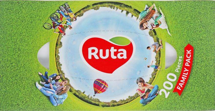 Косметические салфетки 200 шт. - Ruta Family Pack