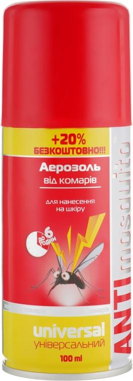 Аэрозоль от комаров - Anti Mosquito