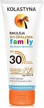 Духи, Парфюмерия, косметика Эмульсия для загара для всей семьи - Kolastyna Family Suncare Emulsion SPF 30