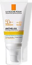 Духи, Парфюмерия, косметика Солнцезащитный крем со светлым тонирующим эффектом для кожи лица, склонной к гиперпигментации, SPF50+ - La Roche-Posay Anthelios Pigmentation SPF50+
