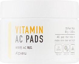 Духи, Парфюмерия, косметика Пилинг-диски для очищения кожи лица - A'pieu Vitamin AC Pad