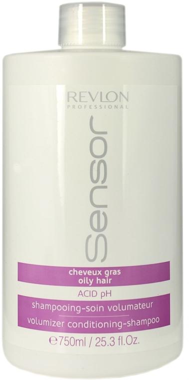 Шампунь-кондиционер для жирной кожи головы - Revlon Professional Sensor Shampoo Volumizer