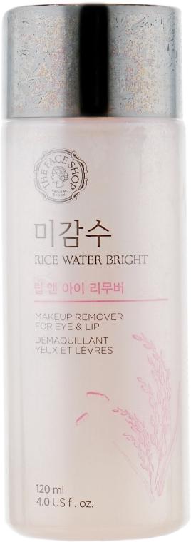Средство для снятия макияжа с губ и глаз - The Face Shop Rice Water Bright Lip&Eye Remover