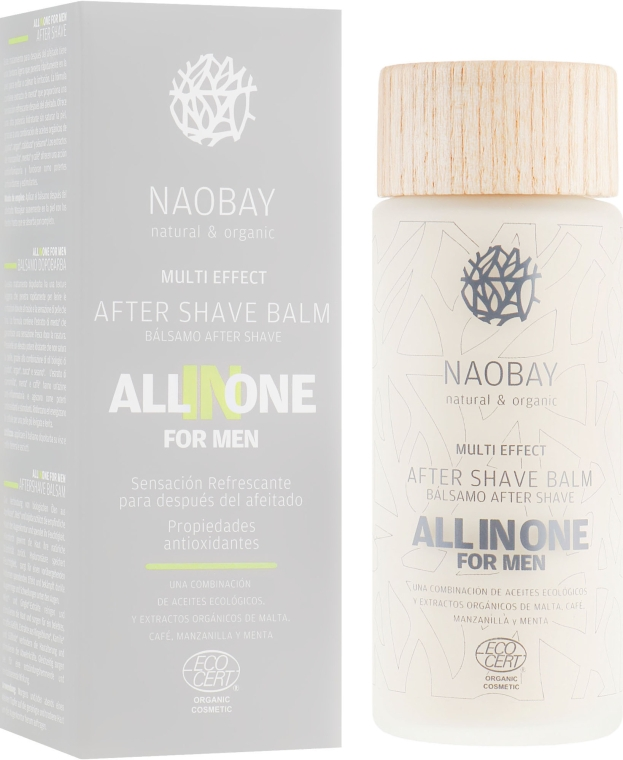 Бальзам после бритья - Naobay All In One After Shave