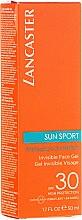 Духи, Парфюмерия, косметика Водостойкий матирующий гель для лица - Lancaster Sun Sport Invisible Face Gel SPF30