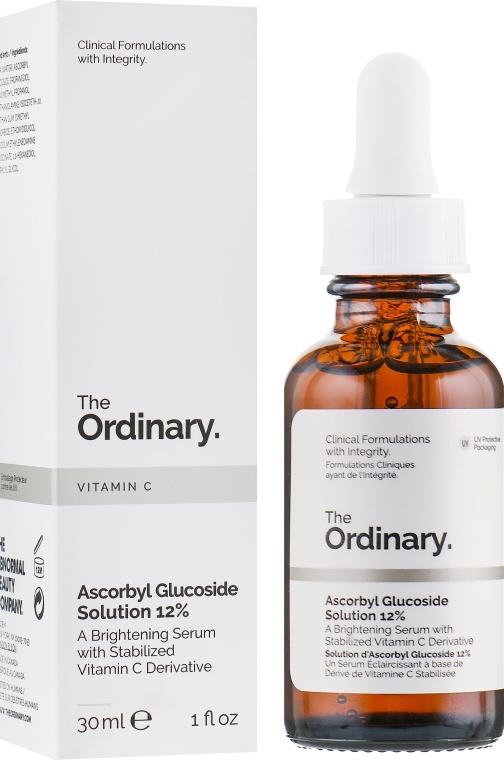 Сыворотка для лица с аскорбил глюкозидом - The Ordinary Ascorbyl Glucoside Solution 12%