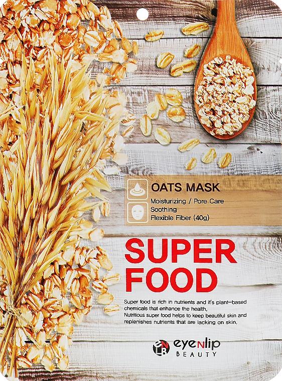 Маска для лица с экстрактом овса - Eyenlip Super Food Oats Mask
