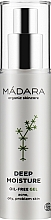 Духи, Парфюмерия, косметика Глубоко увлажняющее желе - Madara Cosmetics Deep Moisture Gel