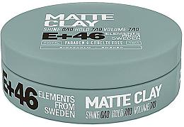 Духи, Парфюмерия, косметика Матовая глина для укладки волос - E+46 Matte Clay
