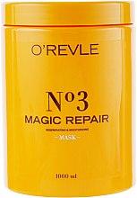 Духи, Парфюмерия, косметика Маска для восстановления волос - O'Revle Magic Repair Mask №3