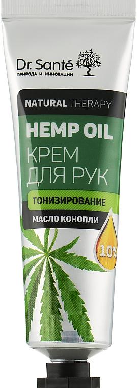 "Крем для рук ""Тонизирование"" - Dr. Sante Natural Therapy Hemp Oil"