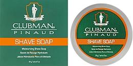 Духи, Парфюмерия, косметика Натуральное мыло для бритья - Clubman Pinaud Shave Soap