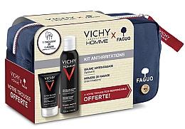 Духи, Парфюмерия, косметика Набор - Vichy Homme Sensitive After-Shave (foam/200ml + a/sh/balm/75ml + bag)