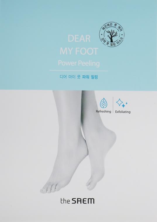 Пилинг-носочки для ног - The Saem Dear My Foot Power Peeling