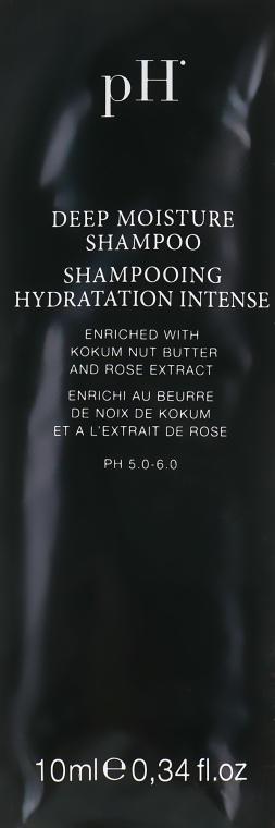 """Шампунь """"Глубокое увлажнение"""" - Ph Laboratories Deep Moisture Shampoo (пробник)"""