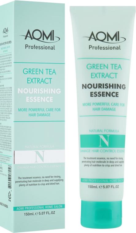 Эссенция для поврежденных волос - Aomi Green Tea Extract Nourishing Essence