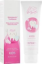 Духи, Парфюмерия, косметика Зубная паста детская для чувствительных зубов со вкусом бубльгум - Green Beaver Naturapeutic Kids Toothpaste