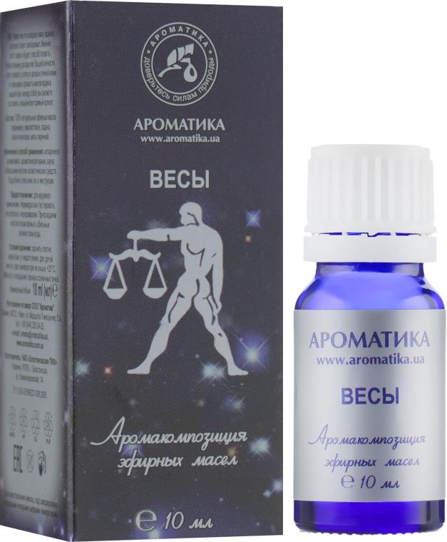 "Эфирное масло ""Знак зодиака Весы"" - Ароматика"