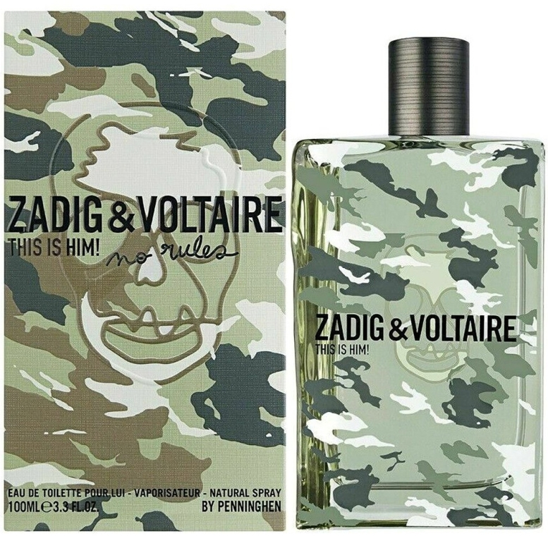 Zadig & Voltaire This Is Him No Rules - Туалетная вода — фото N1