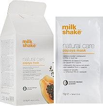 Духи, Парфюмерия, косметика Маска-пудра с экстрактом папайи - Milk_Shake Natural Care Papaya Mask
