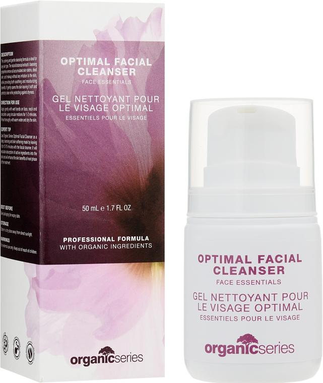 Оптимальное очищающее средство для лица - Organic Series Optimal Facial Cleanser