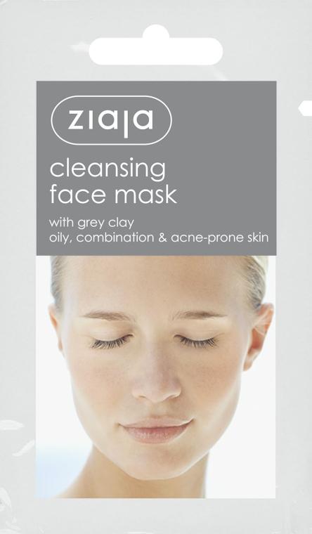 """Маска для лица """"Очищающая"""" с серой глиной - Ziaja Face Mask"""