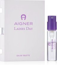Духи, Парфюмерия, косметика Aigner Ladies Day - Туалетная вода (пробник)
