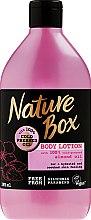 Духи, Парфюмерия, косметика Увлажняющий лосьон для тела - Nature Box Almond Oil