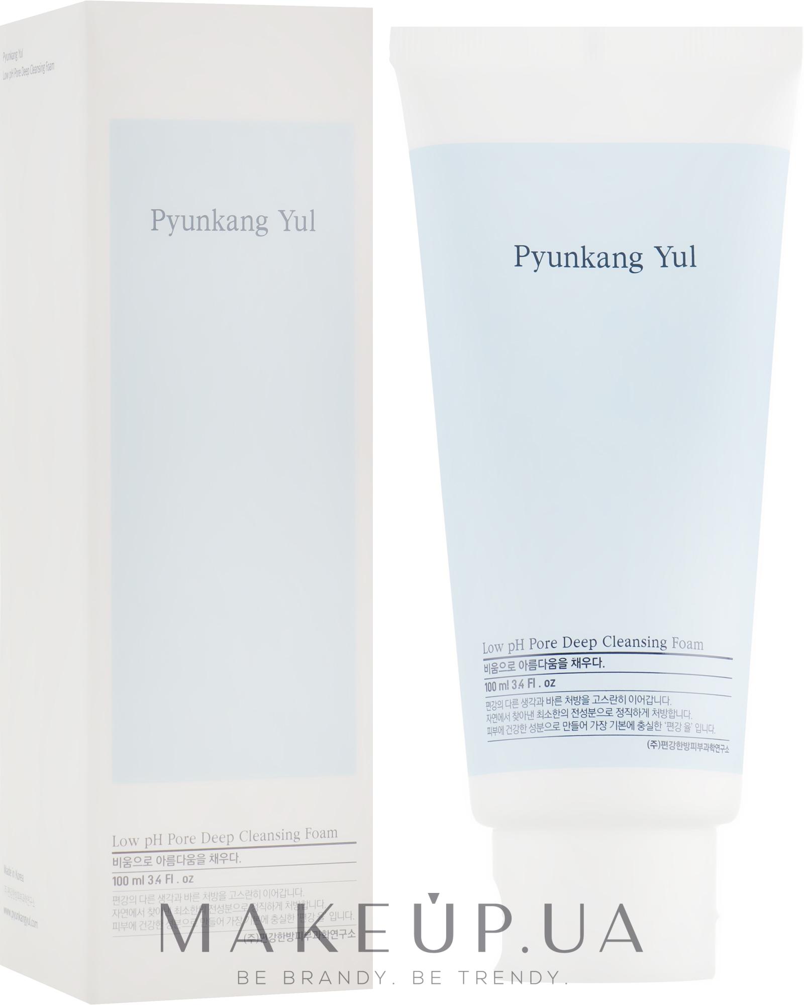 Глубоко очищающая пенка с низким pH - Pyunkang Yul Pore Deep Cleansing Foam — фото 100ml