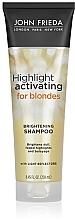 Духи, Парфюмерия, косметика Увлажняющий шампунь для светлых волос - John Frieda Sheer Blonde Highlight Activating Moisturising Shampoo