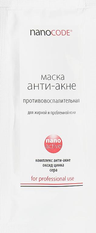"""Маска для лица """"Анти Акне"""" - NanoCode NanoActive Mask"""