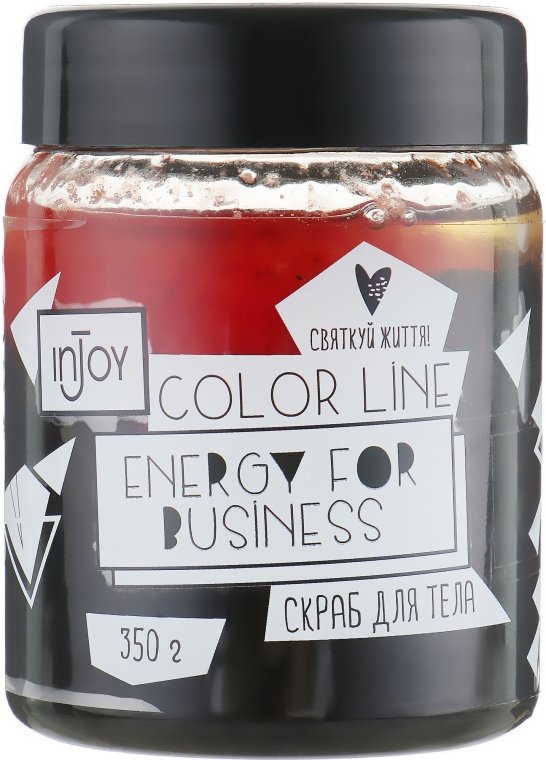 "Скраб для тела ""Energy for Business"" - inJoy Color Line Energy for Business"